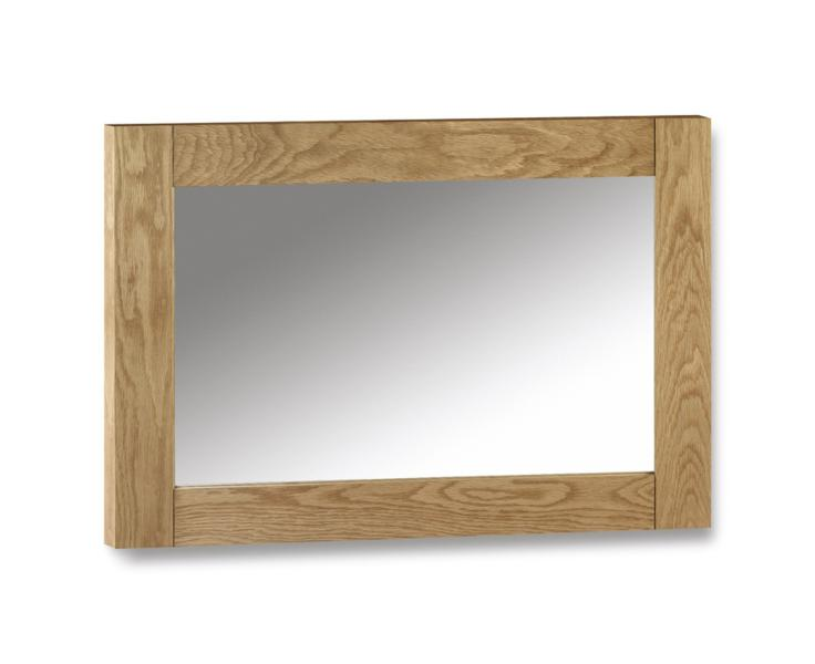Julian Bowen Marlborough Oak Mirror